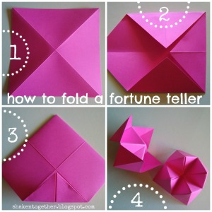 how to make a forchen teller